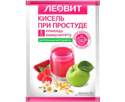 Леовит Кисель При простуде