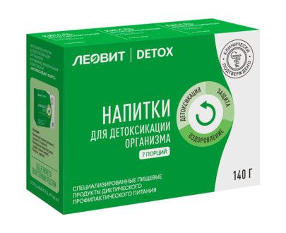 Кисели для детоксикации организма ЛЕОВИТ DETOX