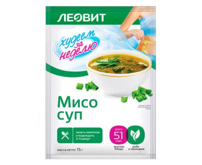 """Мисо-суп Леовит """"Худеем за неделю"""""""