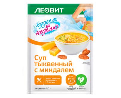 Леовит Тыквенный суп с миндалем