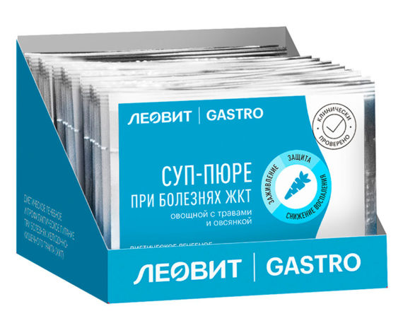 Леовит Gastro Суп-пюре при болезнях ЖКТ