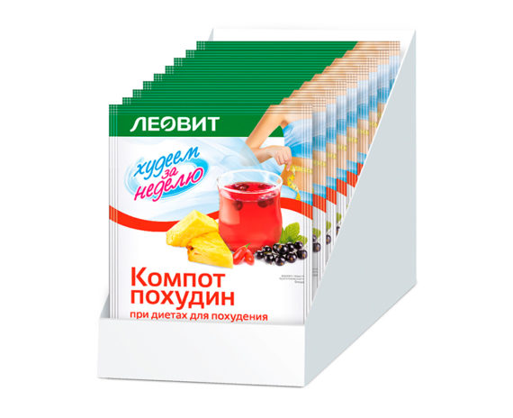 ЛЕОВИТ Компот Похудин Шоубокс