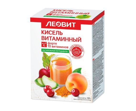 Леовит Кисель Витаминный ФОРТЕ.
