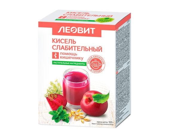 Леовит Кисель Слабительный