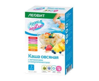Каша овсяная ЛЕОВИТ Ассорти