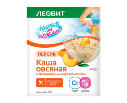 Леовит Каша овсяная Персик